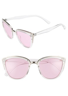 BP. 66mm Colored Cat Eye Sunglasses