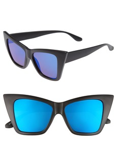BP. 66mm Oversize Cat Eye Sunglasses