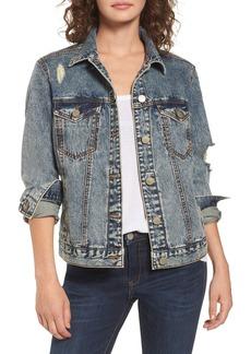 BP. Bossy Embellished Denim Jacket