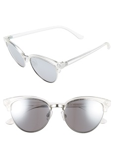 BP. Clear Cat Eye Sunglasses