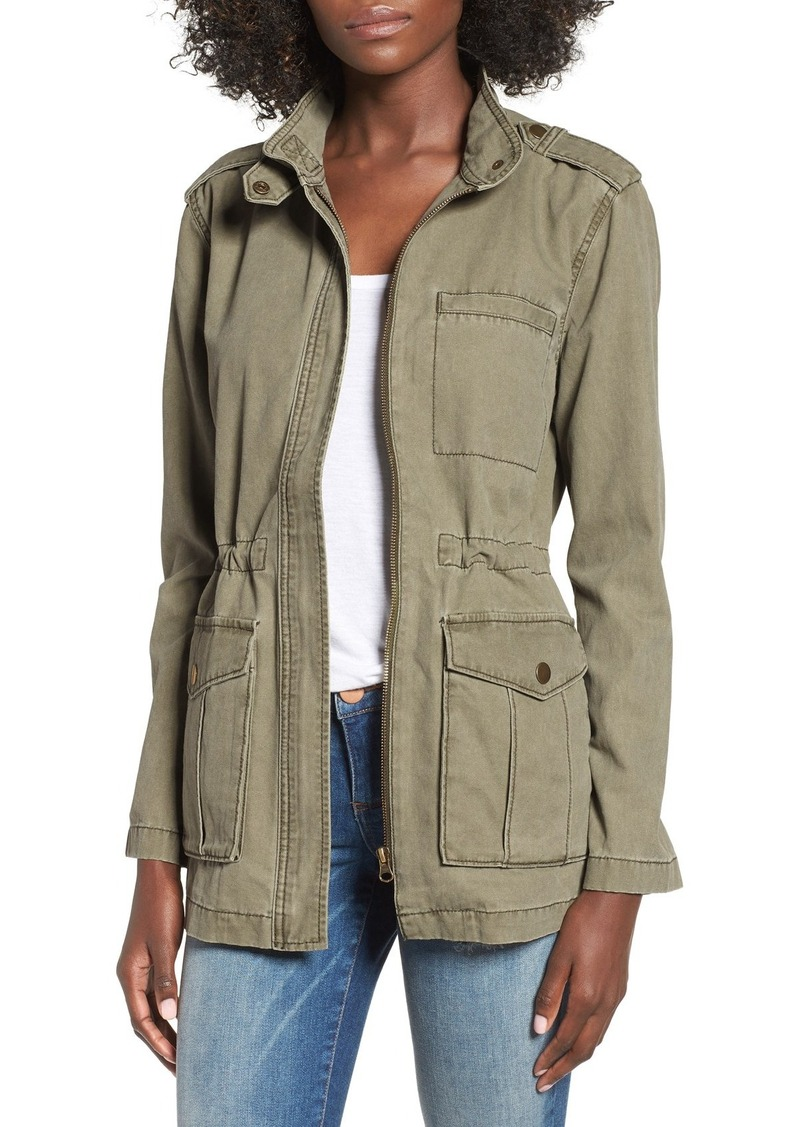 Brass Plum BP. Cotton Canvas Anorak