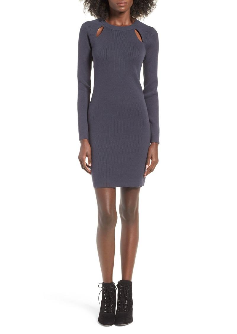 Brass Plum BP. Cutout Sweater Dress