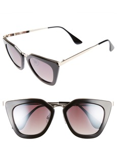 BP. Dejavu 51mm Cat Eye Sunglasses