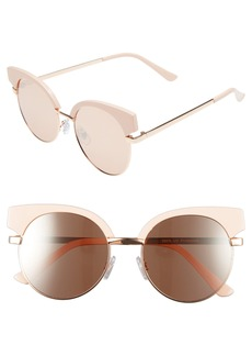 BP. Enamel Round Sunglasses
