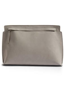 Brass Plum BP. Faux Leather Clutch