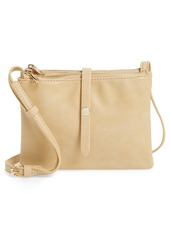 Brass Plum BP. Faux Leather Double Pouch Crossbody Bag