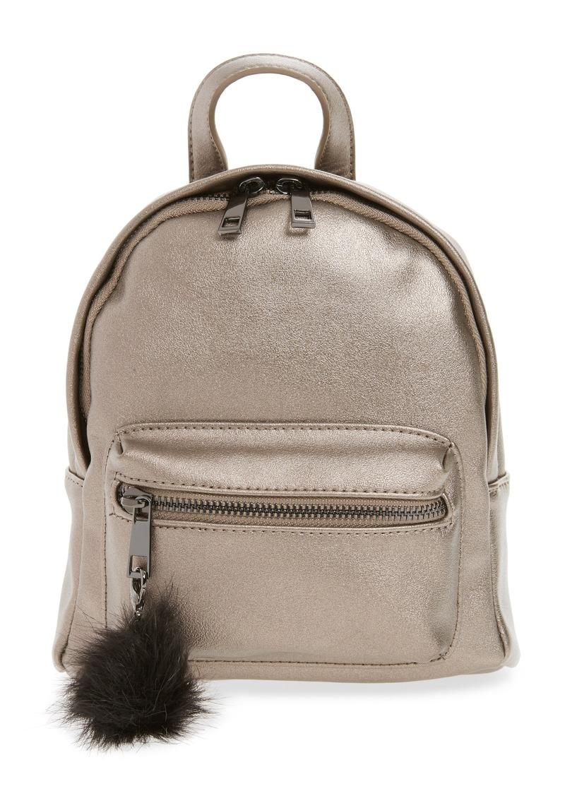 Brass Plum BP. Faux Leather Mini Backpack  d00caa958f0c7