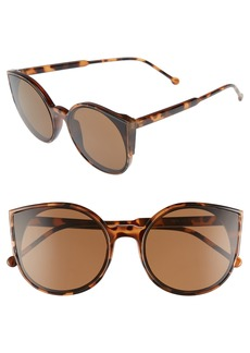 BP. Flat Cat Eye Sunglasses
