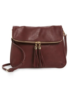 Brass Plum BP. Foldover Crossbody Bag