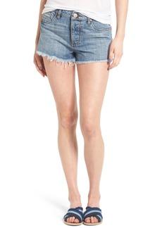BP. Fray Hem Denim Shorts