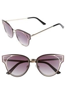 BP. Geo Flat Metal Cutout Sunglasses