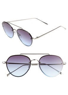 Brass Plum BP. Gradient Petite Aviator Sunglasses