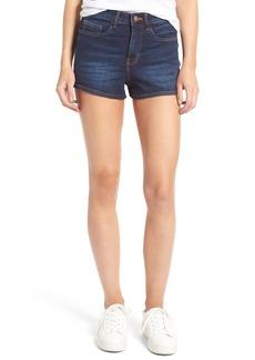 BP. High Rise Denim Shorts (Deep Sea Blue)
