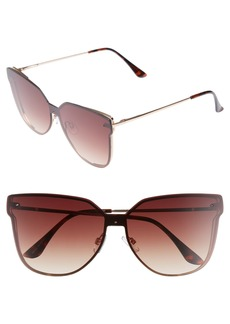 BP. Inception 62mm Cat Eye Sunglasses