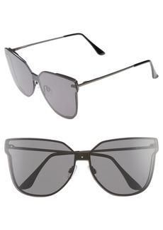 Brass Plum BP. Inception 62mm Cat Eye Sunglasses
