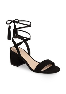 BP. Karla Block Heel Ankle Wrap Sandal (Women)