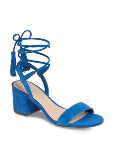 Brass Plum BP. Karla Block Heel Ankle Wrap Sandal (Women)