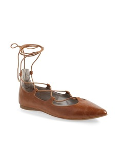 BP. 'Katrina' Pointy Toe Ghillie Flat (Women)