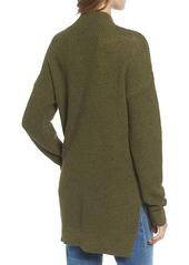 Brass Plum BP. Knit High/Low Tunic