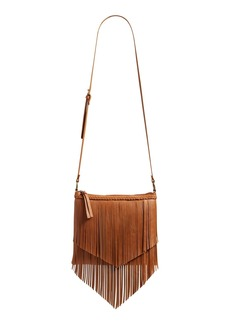 Brass Plum BP. Layered Fringe Crossbody Bag
