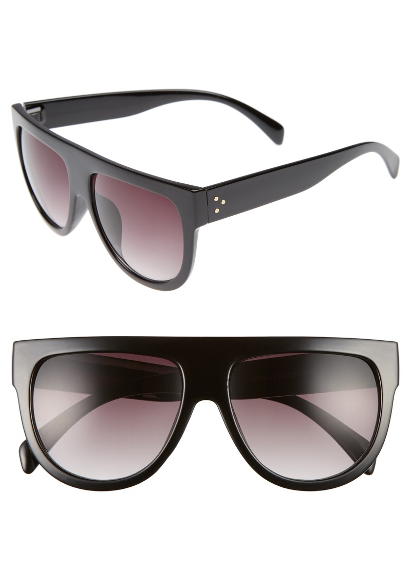 Brass Plum BP. Lunette 40mm Shield Sunglasses