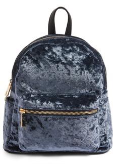 Brass Plum BP. Mini Velvet Backpack