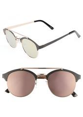 Brass Plum BP. Mirror Lens Sunglasses