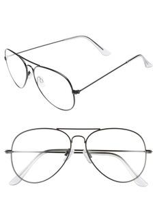 BP. Mirrored Aviator 57mm Sunglasses