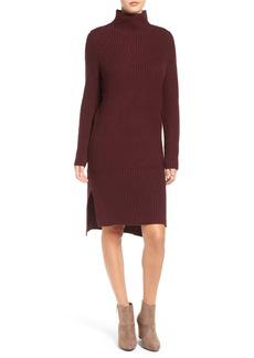 Brass Plum BP. Mock Neck Knit Sweater Dress