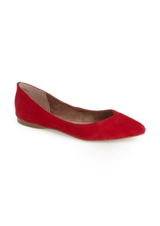 BP. 'Moveover' Pointy Toe Leather Flat (Women)