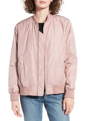 Brass Plum BP. Pleat Back Bomber Jacket