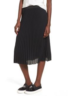 Brass Plum BP. Pleated Midi Skirt