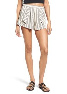 BP. Pleated Stripe Shorts