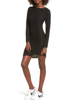 Brass Plum BP. Ribbed Body-Con Dress