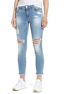 BP. Ripped Ankle Skinny Jeans (Destroy Medium Worn Wash)