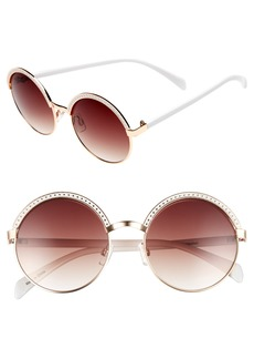 Brass Plum BP. Round Sunglasses