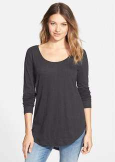 Brass Plum BP. Scoop Neck Long Sleeve Tee
