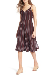 Brass Plum BP. Stripe Wide Leg Jumpsuit
