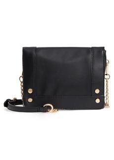 Brass Plum BP. Studded Faux Leather Crossbody Bag