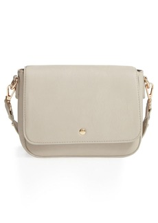 Brass Plum BP. Studded Faux Leather Crossbody Bag