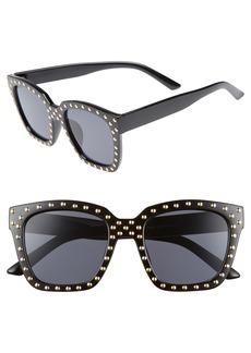 BP. Studded Square Sunglasses