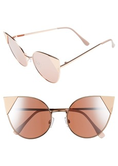 BP. Super Metal Tip 60mm Cat Eye Sunglasses