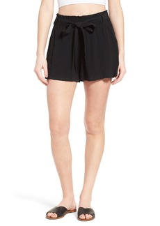 BP. Tie Front Paperbag Shorts