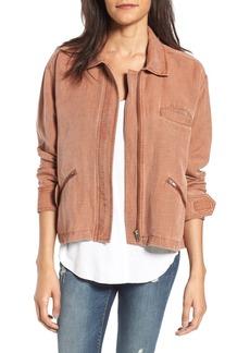BP. Washed Linen Blend Jacket