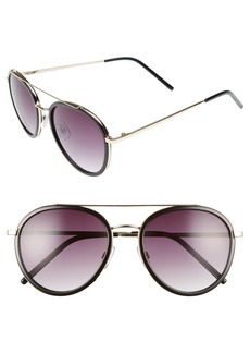 BP. Zanzibar 54mm Aviator Sunglasses