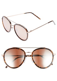 Brass Plum BP. Zanzibar 54mm Aviator Sunglasses