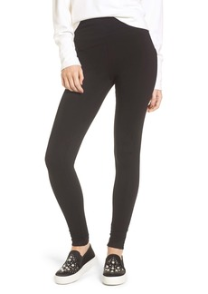 Brass Plum High Rise Leggings