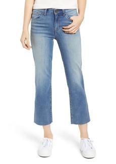 Brass Plum High Waist Crop Flare Jeans
