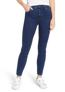 Brass Plum High Waist Skinny Jeans