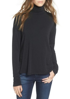 Brass Plum Long Sleeve Turtleneck Tee